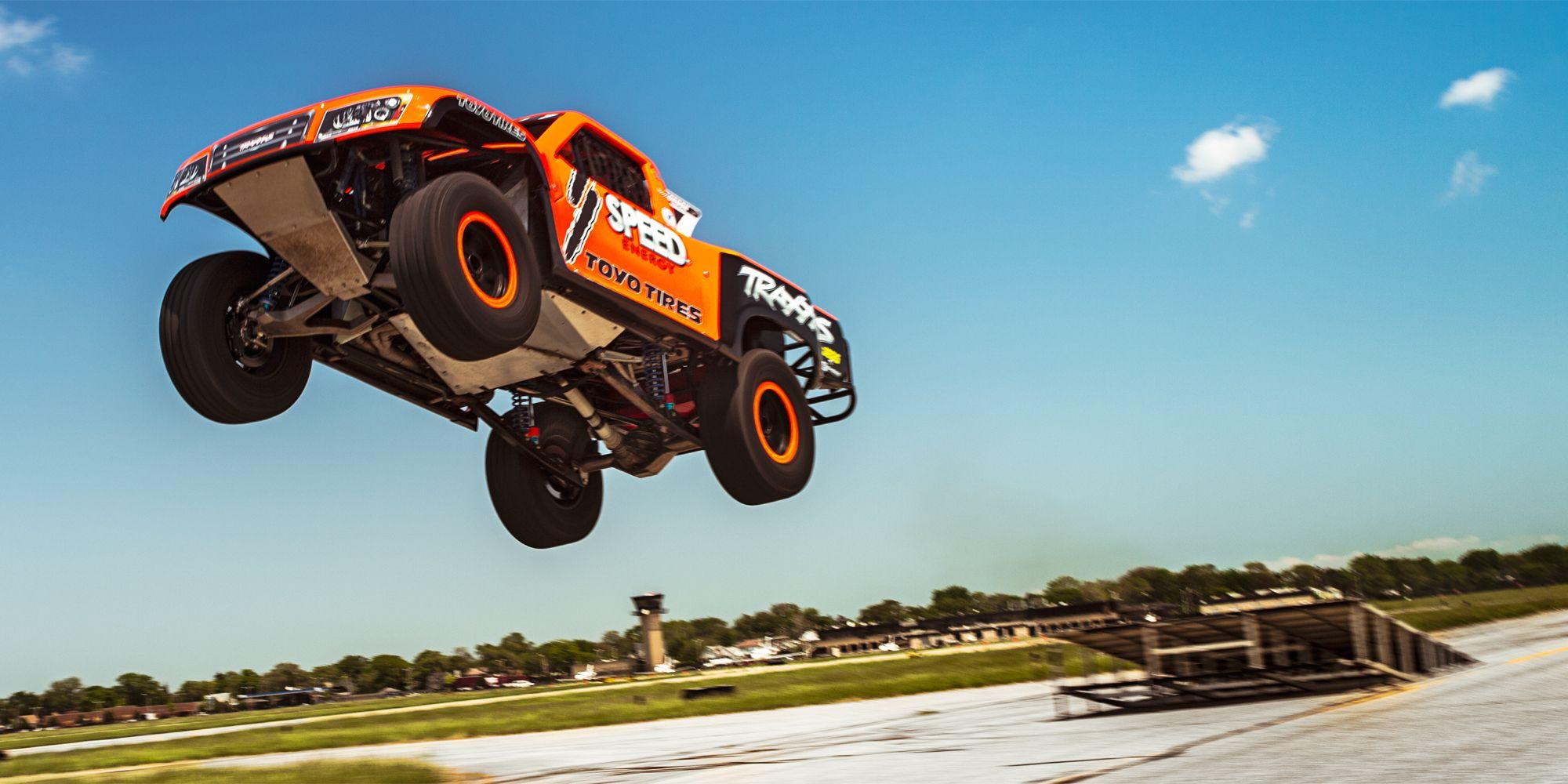 How Robby Gordon's Flying Stadium Super Trucks Have Brought
