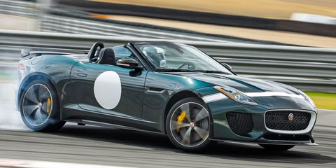 The Jaguar Project 7 Has Less Purpose, Less Roof, and More Noise