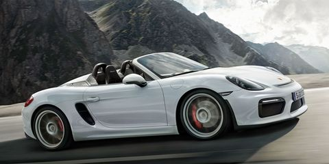 Why The 2016 Porsche Boxster Spyder Is Just Shy Of Special