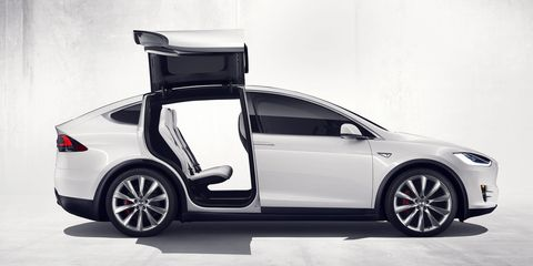 The Seven Craziest Things About the Tesla Model X