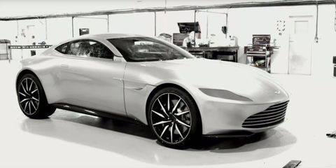 You Can Buy James Bond S Aston Martin Db10