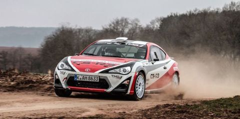 Toyota's GT86 Rally Car Is Your Ultimate Dirt Drift Machine