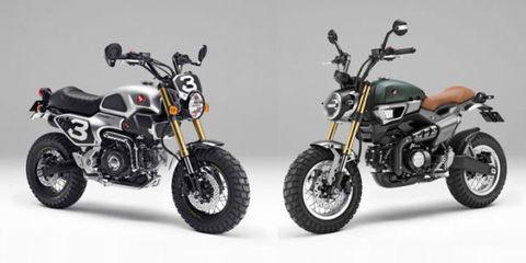 Honda Grom Scrambler Concepts