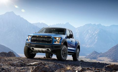"It's the charismatic off-roader Ferrari would build if it built 4x4 pickups. Absent for the 2015 and 2016 model years, the Raptor is back for 2017, and <a href=""http://www.caranddriver.com/reviews/2013-ford-f-150-svt-raptor-supercab-test-review"">based on our experiences with the previous model</a>, it'll set the bar for factory off-road pickups. Happily, Ford stuck to the script for the new model—almost. There has been some paraphrasing in the engine bay, where, instead of the old truck's 411-hp 6.2-liter V-8, sits a new twin-turbocharged 3.5-liter V-6 engine with direct fuel injection. While it shares a displacement figure with the larger of the two EcoBoost V-6s available in the regular F-150, the Raptor's mill features a new aluminum block and upgraded internals, revised heads, and tweaked fuel-delivery equipment. (2017 Ford F-150 SVT Raptor shown)"