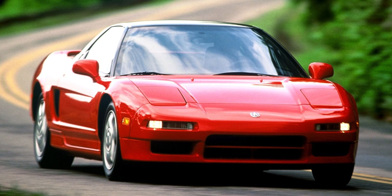 "<p>As Honda's <a href=""http://www.roadandtrack.com/new-cars/road-tests/reviews/a6900/long-term-exotic-1991-acura-nsx/"">mid-engined marvel</a>, what the NSX lacked in power, it made up in style.</p>"