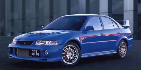 the awd system in the evo vi made it a road going rally car