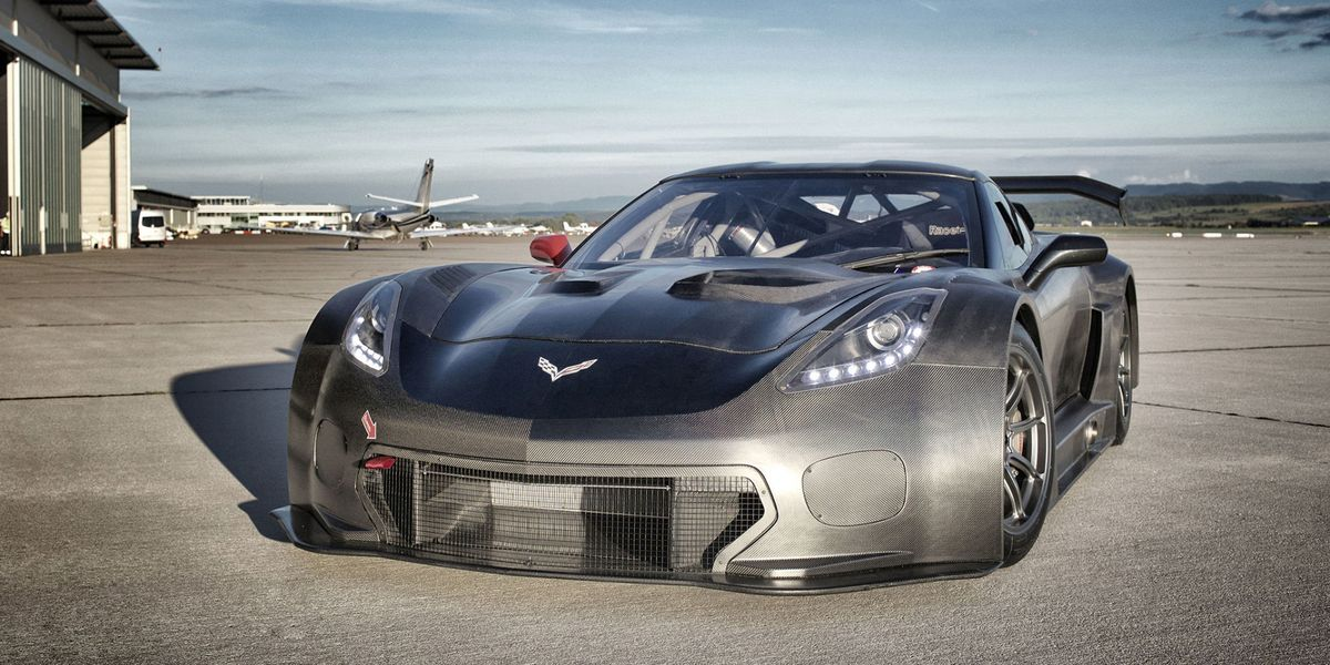 Car Auction Apps >> The Callaway Corvette C7 GT3-R Is Darth Vader's Racer
