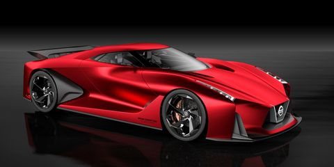 Nissan's Vision Gran Turismo Concept Is a Preview of the Next GT-R