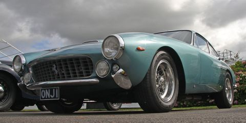 "<p>This is the last Ferrari to <a href=""http://www.rmsothebys.com/mo14/monterey/lots/1964-ferrari-250-gt-l-lusso-berlinetta-by-scaglietti/1068564"" target=""_blank"">bear the 250 name,</a> and it is regarded as one of the most beautiful Ferraris ever designed by Pininfarina.</p>"