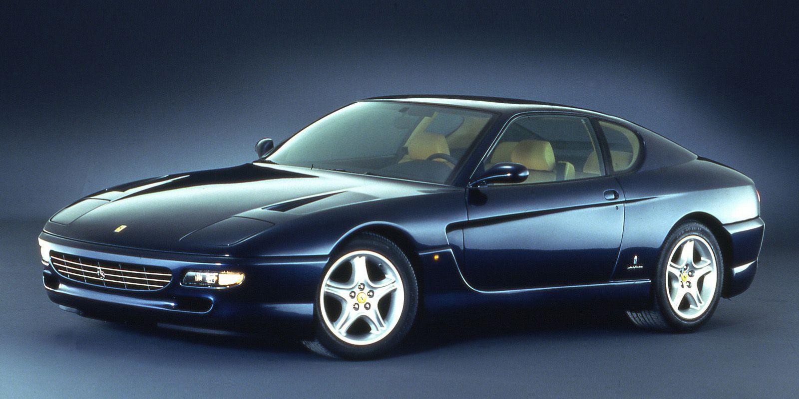 Ferrari front engine