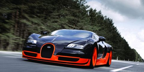 Here's What It Would Take to Do 300 MPH In a Bugatti Veyron