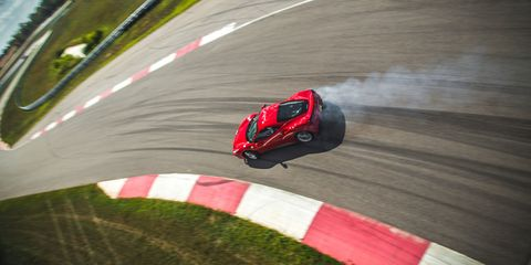 <p>The last time Ferrari offered a mid-engined car with a manual, it was the F430. They didn't really sell many of them. That's a shame, because the classic gated shifter was Ferrari's calling card. </p>