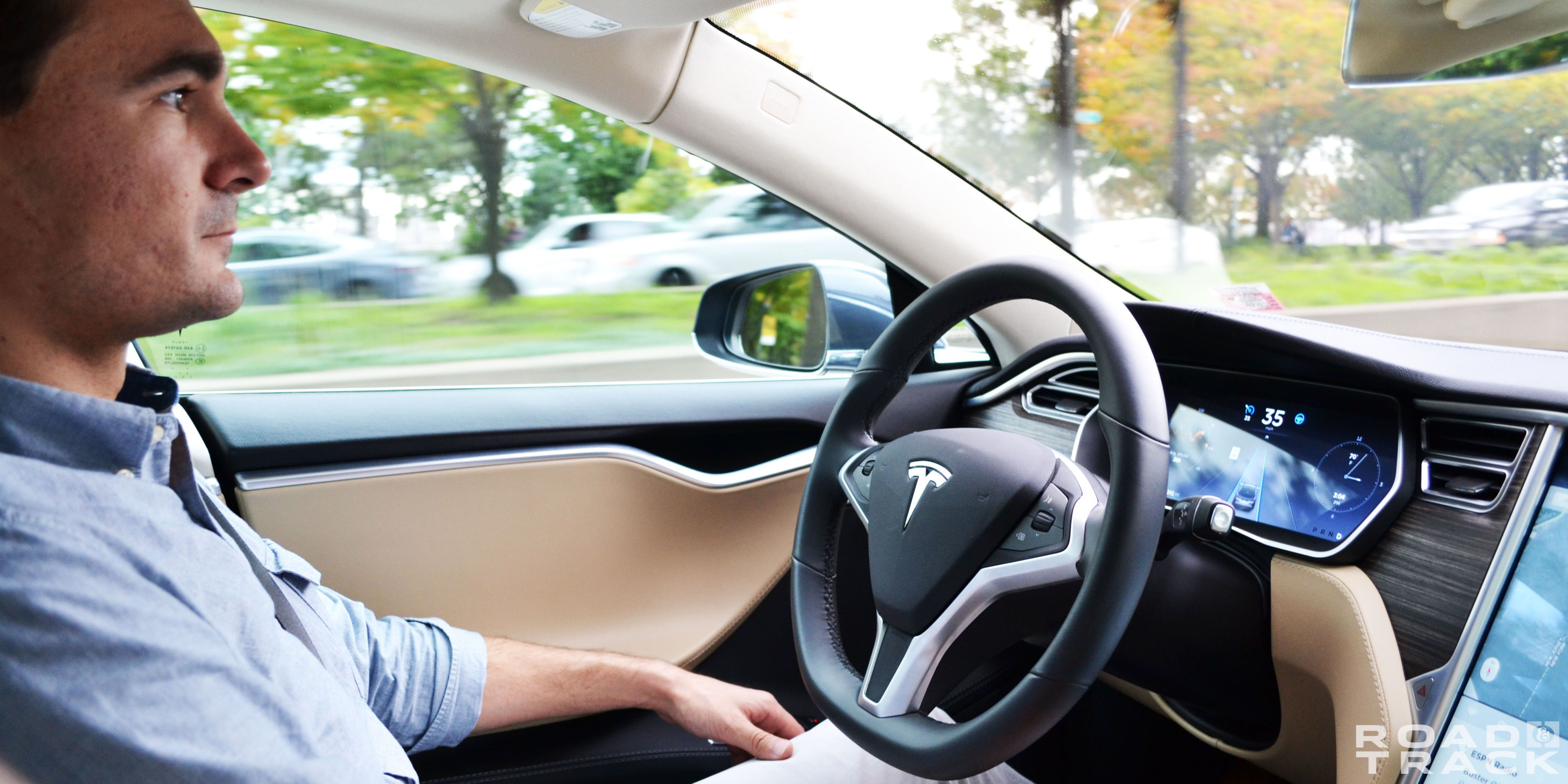 Tesla Autopilot First Ride: Almost as Good as a New York Driver