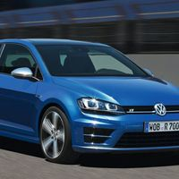 <p>If the GTI is a bit too mundane, then jump for the $35,650 Golf R. It adds all wheel drive and has 290 horsepower from its 2.0 liter turbo four. And it's great to drive.</p>