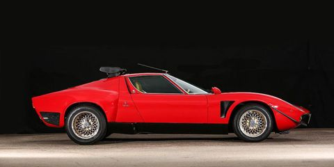This Rare Lamborghini Miura Jota Svr Is For Sale