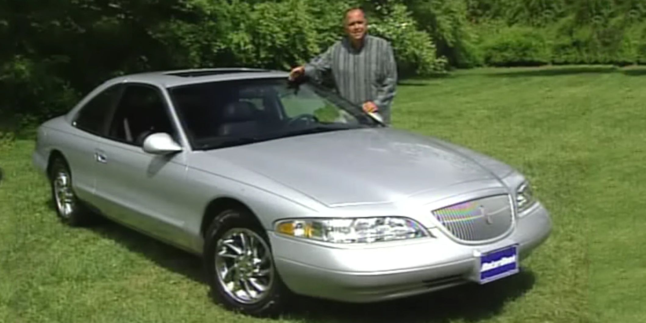 The 97 Lincoln Mark Viii Was A Velvet Glove That Packed A Mean Punch