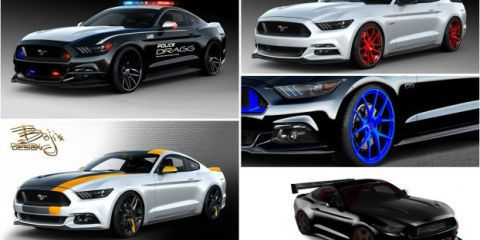 Eight Crazy Mustangs Coming to SEMA 2015