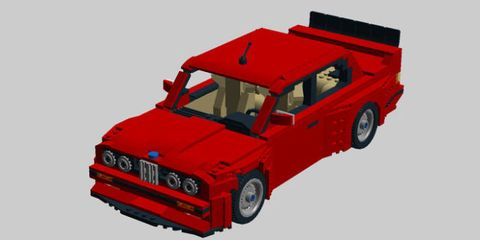 You Can Vote to Make This Amazing E30 M3 LEGO Kit Happen