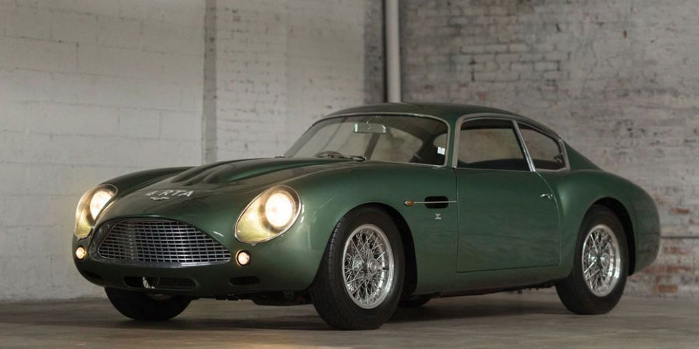 This Super Rare Aston Martin DB4 GT Zagato Can Be Yours