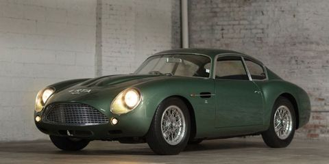 This Super Rare Aston Martin DB4 GT Zagato Can Be Yours