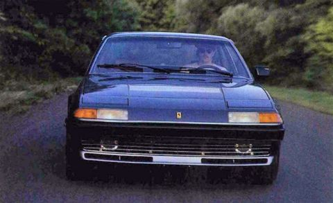 Land vehicle, Vehicle, Car, Sedan, Classic car, Ferrari 400, Coupé, Subcompact car,