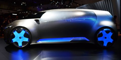 Mercedes-Benz Vision Tokyo Concept: A Van That's Also a Lounge