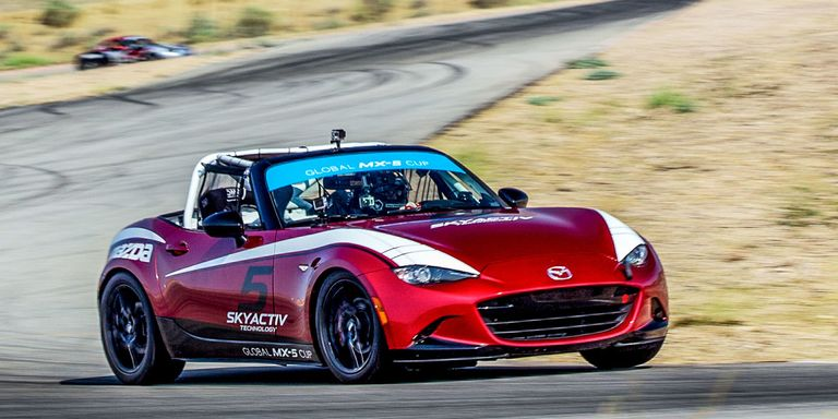 mazda global mx 5 cup first drive. Black Bedroom Furniture Sets. Home Design Ideas