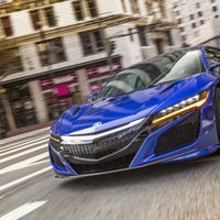 <p>The new Acura NSX is the same as the old NSX in name alone. This NSX is a rolling testbed for future technology, with a complex hybrid system and a nine-speed dual clutch trans. A hardcore Type R version might nix the hybrid stuff, but it should also get rid of the dual-clutch.</p>