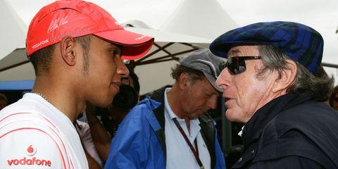 Jackie Stewart Lewis Hamilton