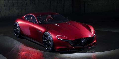 The Mazda RX-VISION Concept Is a Glorious Look at a Rotary Sports Car Future