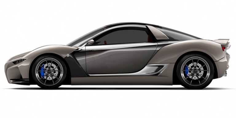 Yamaha S Sports Car Concept Is Basically A Miniature Mclaren