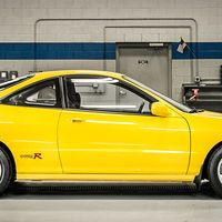"""<p>The Integra Type R is one of the holiest of holy performance front-wheel-drive cars. It made 195-hp from its little four-cylinder engine and the handling was neutral as hell, most unlike a front-wheel-drive car. And it was expensive. We <a href=""""http://www.roadandtrack.com/car-culture/a26856/acura-integra-type-r-buyers-guide/"""">found one recently in good condition for $45,000</a>. With the <a href=""""http://www.roadandtrack.com/new-cars/first-drives/a26659/civic-type-r-first-drive/"""">Civic Type R coming to the U.S.</a> very soon, we're waiting to hear what Acura has to say about that (like build a new Integra Type R).</p>"""