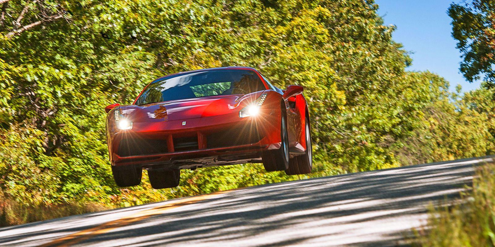 Ferrari 458 1/4 mile