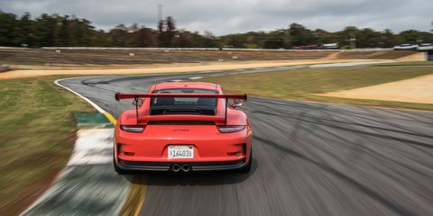 The 2016 Porsche 911 Gt3 Rs Is A Race Car With Training Wheels