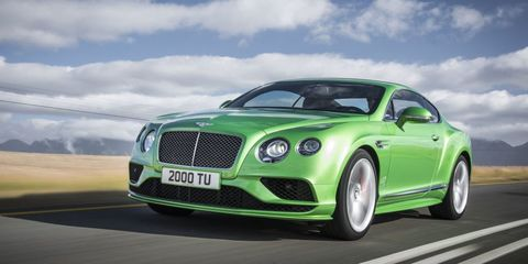 "<p>Arguably the most common Bentley, <a href=""http://www.roadandtrack.com/new-cars/news/a5333/bentley-continental-gt-v8-s-first-look/"" target=""_blank"">the Continental GT</a> has proven popular largely because of its attractive design and ridiculously comfortable cabin. Even though it's been around for years and is starting to show its age, luxury coupe buyers still lean towards the Continental GT.</p>"