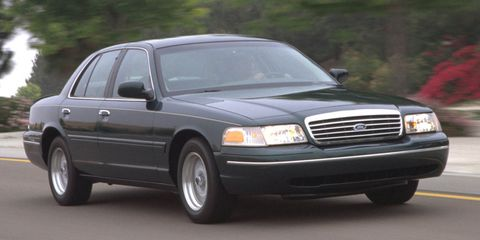Sometimes you want a winter beater that's big and comfortable. In that case, look no further than the Ford Crown Victoria. Sure it's rear-wheel drive, but the giant trunk has plenty of space to add weight over the rear tires. They're built to last, and you can also find them for sale no matter where you're looking.