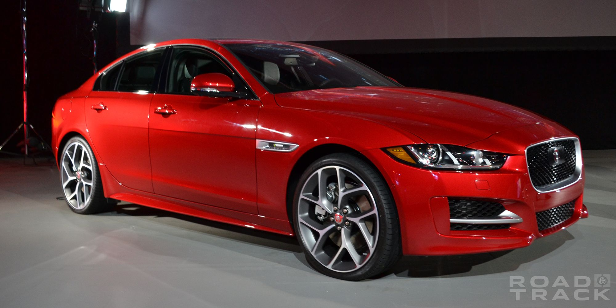 news show crossover ev jaguar dealership tesla los angeles concept aim i model takes ipace x dead la pace at auto