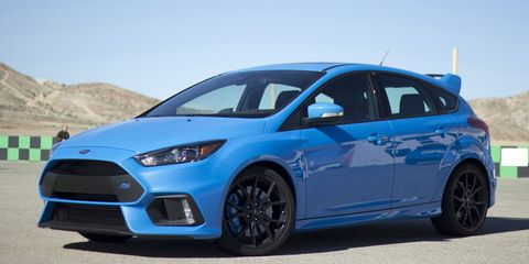Ford Never Considered an Automatic Gearbox for the New Focus RS