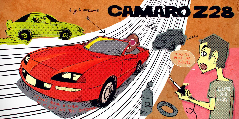 1985 Chevy Camaro Engine