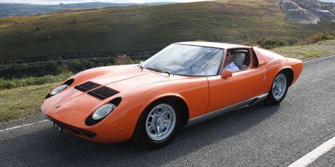 Lamborghini Miura From The Original The Italian Job For Sale