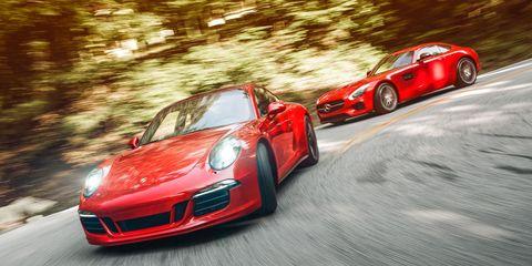 Tire, Wheel, Automotive design, Vehicle, Land vehicle, Performance car, Car, Alloy wheel, Rim, Red,