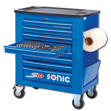 "<p>A toolbox is a must have for any garage. What's even better is a toolbox that comes filled to the brim with some excellent tools. Sonic has exactly what you need to get that brand new garage going.</p><p><a href=""http://www.sonictoolsusa.com/filled-tool-trolley-s10-285pcs-blue.html""></a><em><a href=""http://www.sonictoolsusa.com/filled-tool-trolley-s10-285pcs-blue.html"">Buy it here</a></em></p>"