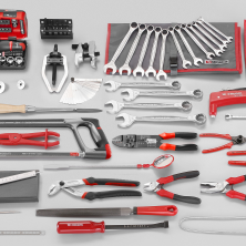 "<p>Let's say the person you're thinking of already has a toolbox, but it's full of older, lower quality, mis-matched tools. What do you do? Get them an incredibly expensive set of tools from Facom, the people who made the toolkit for the McLaren F1. And if that's too expensive, look into a set from Snap-On or Craftsman.</p><p><em><a href=""http://catalogue.facom.com/en/categorie/tool-sets/automotive/produit/153-piece-metric-automotive-tool-set"">Learn more here</a></em><br></p>"