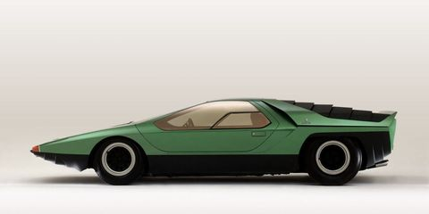 How the Wild Alfa Romeo Carabo Concept Predicted the Future in 1968