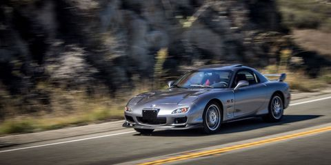 What It's Like to Drive the Only Mazda RX-7 Spirit R in America