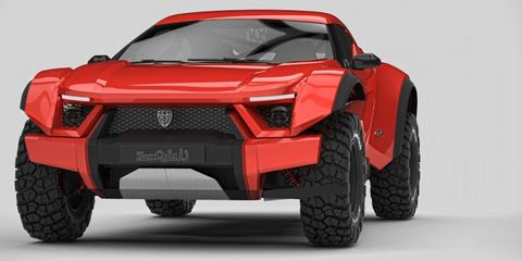 Check Out the UAE's New Off-Roader, the Zarooq SandRacer