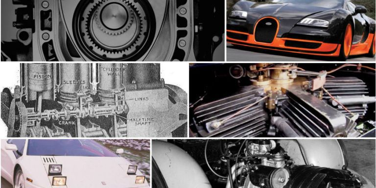 The Ten Most Unusual Production-Car Engines of All Time