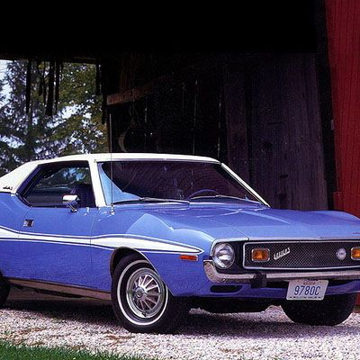 <p>The Ford Mustang and Chevrolet Camaro may have lasted longer, but the AMC Javelin definitely had the more aggressive name.</p>
