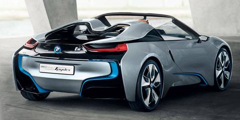Bmw First Debuted The I8 Spyder Concept Shown Above At 2017 Beijing Motor Show It Hasn T Been Heard From Since Despite Brilliant Production