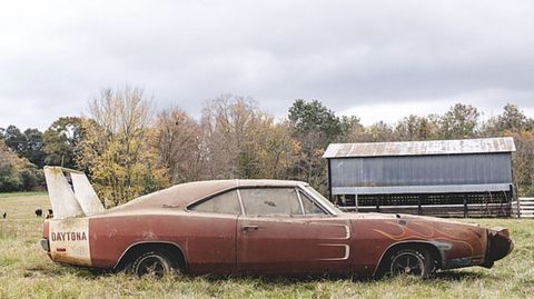 Ultra-Rare, $180,000 1969 Dodge Charger Daytona Discovered Rusting
